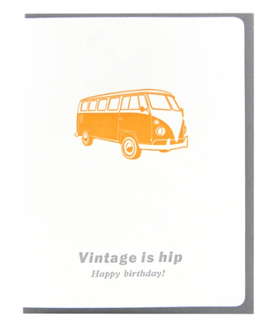 Vintage is hip Birthday