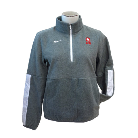 SFU Athletics Nike Womens Microfleece Half Zip