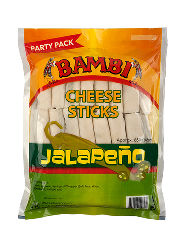 Bambi Cheese Sticks with Jalapeño - Party pack