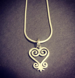 Adinkra Charm Necklace (Single Necklace)