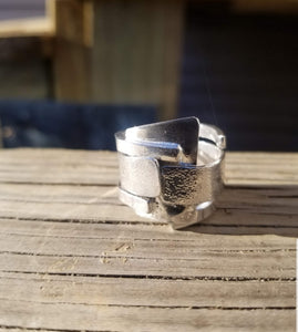 Textured love Ring 2