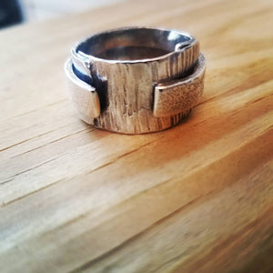 Textured Love Ring 3