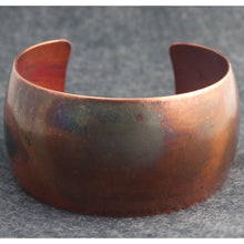 Load image into Gallery viewer, Simply Patina Copper Cuff