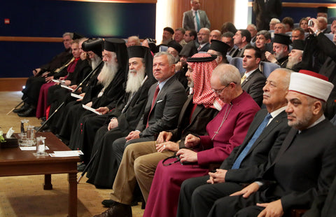 King meets church leaders from Jordan, Jerusalem, and Christian figures on occasion of Eastern Christmas
