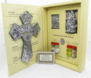 Jordan River Baptism silver gift set | Holy Valley