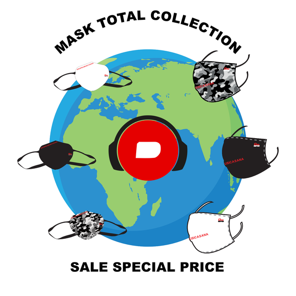 SALE SPECIAL PRICE - MASK TOTAL COLLECTION - spedizione inclusa