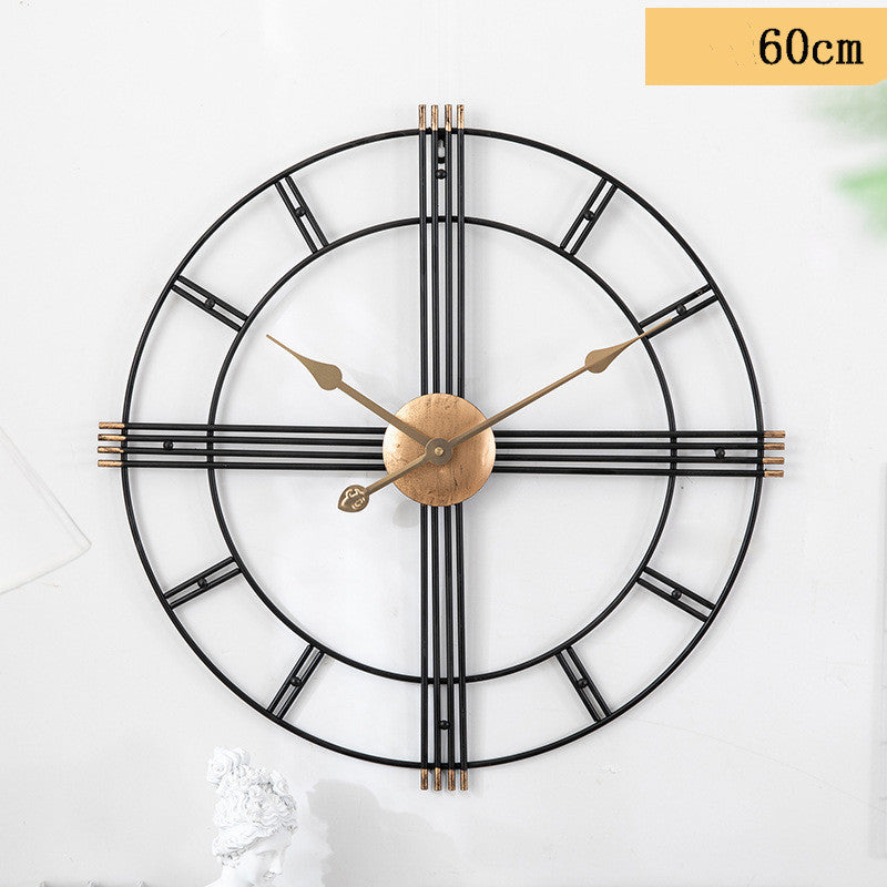 Modern Greek Design Wall Clock