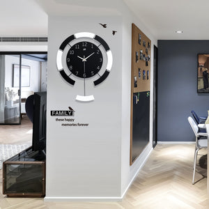Creative Modern Wooden Wall Clock
