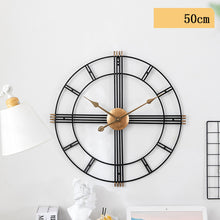 Load image into Gallery viewer, Modern Greek Design Wall Clock