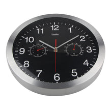 Load image into Gallery viewer, Classic Metal Wall Clock With Temperature And Humidity