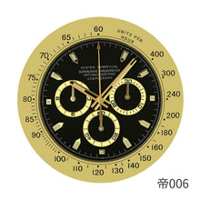 Load image into Gallery viewer, Large Luxury Tik Tok Wall Clock - Modern Design - Large Gold Watch Style