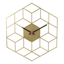 Load image into Gallery viewer, Creative Iron Cube Wall Clock Home Decoration - Perfect Housewarming Gift