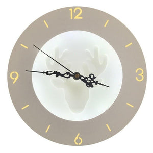 Tik Tok Wall Clock Lamp