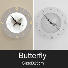 Load image into Gallery viewer, Tik Tok Wall Clock Lamp