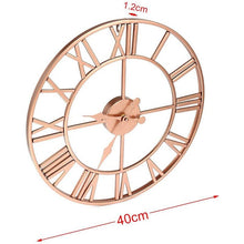 Load image into Gallery viewer, Rose Gold & Copper Roman Tik Tok Clock