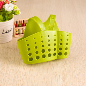Fancyland™ Kitchen Sink Sponge Holder Drain Basket Hanging Strainer Organizer Storage