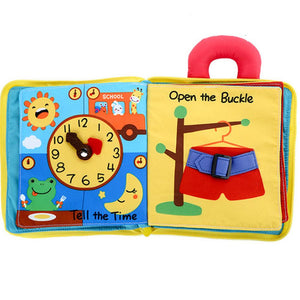 Fancyland™ Early Education 3D Cloth Book