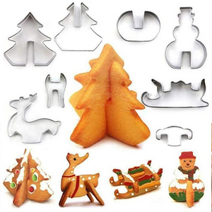 Fancyland™ 3D Stainless Steel Christmas Cookie Mold