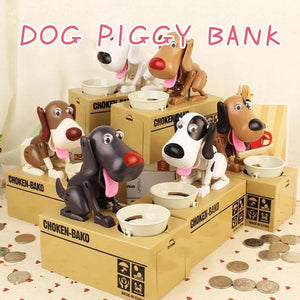Fancyland™ Dog Piggy Bank