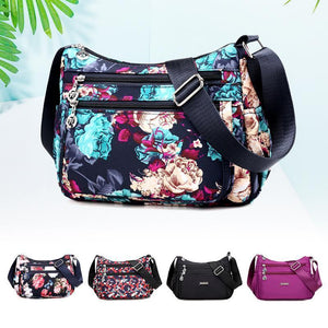 Fancyland™ Floral Large Capacity Shoulder Bag