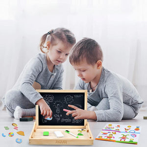 Fancyland™ Reversible Magnetic Drawing Board Toys. Perfect Toddler Toy.