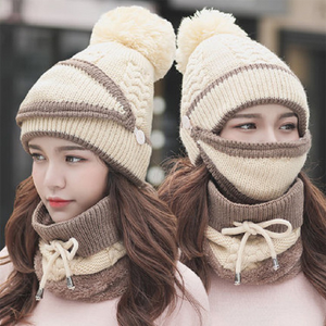 Fancyland™ 3PCS Women Winter Scarf Set
