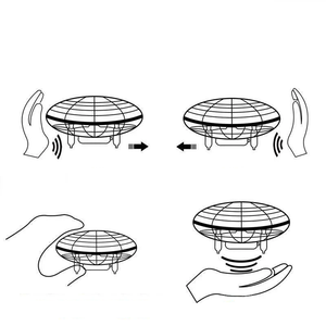 Fancyland™ Mini UFO induction aircraft