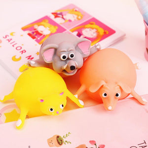 Fancyland™ Soft Cute Animal Blowing and Venting Decompression Children Toy,Random Types