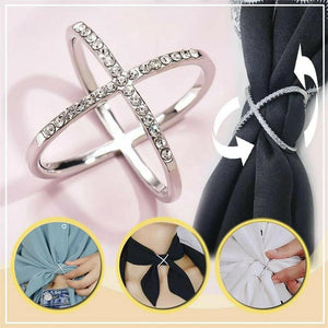 Fancyland™ Elegant Scarf Buckle Ring