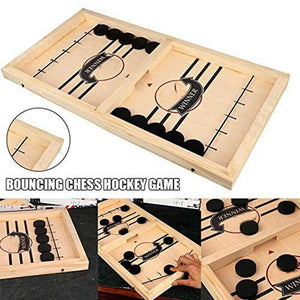 Fancyland™ Funny Family Wooden Hockey Game