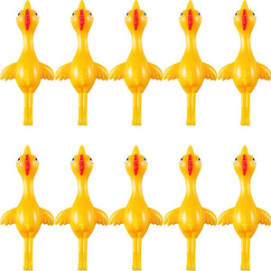 Fancyland™ Sticky Slingshot Rubber Chicken, Stretchy Funny Toy