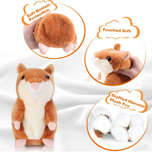 Fancyland™ Cute Repeating Talking Plush Hamster(🔥BUY 2 GET FREE SHIPPING)