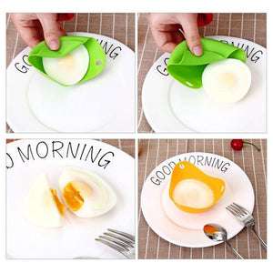 Fancyland™ Silicone Poaching Pods Egg Mold Bowl Rings Cooker Boiler Kitchen Pancake Maker