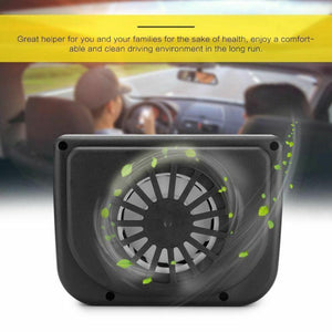 Fancyland™ Vehicle Solar Powered Car Vent Window Fan