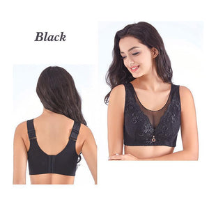 Fancyland™ Embroidery Wireless Full Busted Anti Sagging Bras