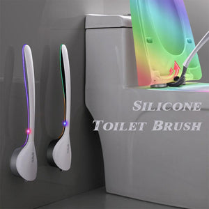 Fancyland™ Clear dead spots-Silicone Toilet Brush
