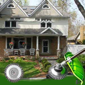 Fancyland™ Garden Weed Brush Lawn Mower
