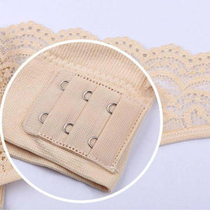 Fancyland™ Wireless Front Cross Buckle Lace Lift Bra