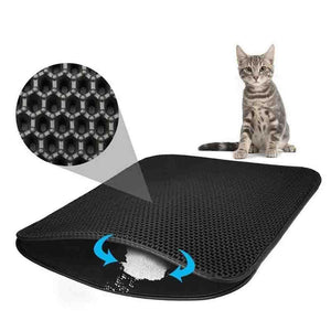 Fancyland™ New Double Layer Larger Size Cat Litter Mat