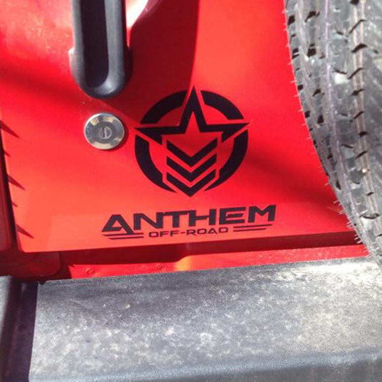 Vertical Anthem Off Road Small Decal
