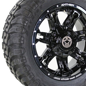 20x9 - A743 Aviator w/ 33x12.50R20 Patriot Torque MT (Set of 4)
