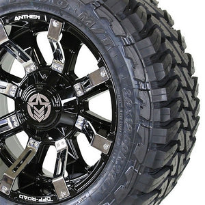 20x10 - A711 Defender w/ 33x12.50R20 Toyo Open Country MT (Set of 4)