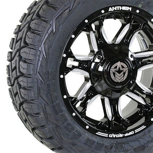 20x9 - A741 Aviator w/ 33x12.50R20 Toyo Open Country RT (Set of 4)