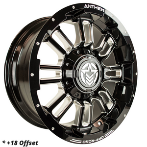 18x9 - A721 Enforcer - $949/set ($660 for Ambassadors)