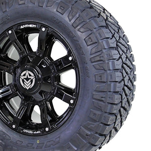 18x9 - A711 Defender w/ 285-65R18 Nitto Ridge Grappler (Set of 4)