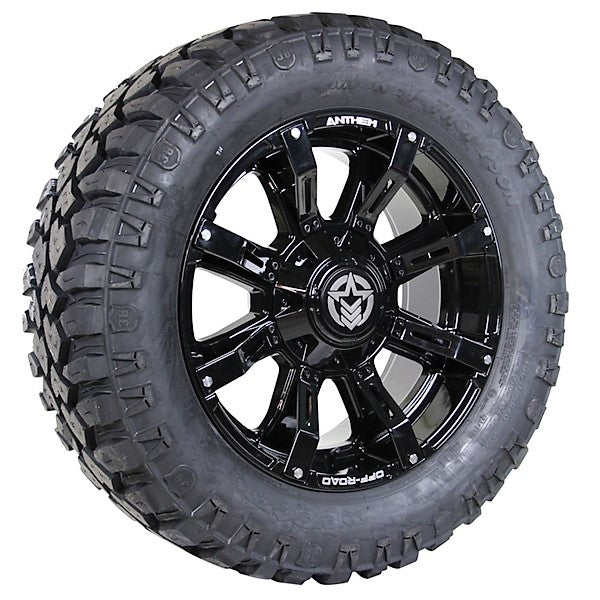 20x9 - A711 Defender w/ 305-55R20 Mickey Thompson Deegan 38 (Set of 4)
