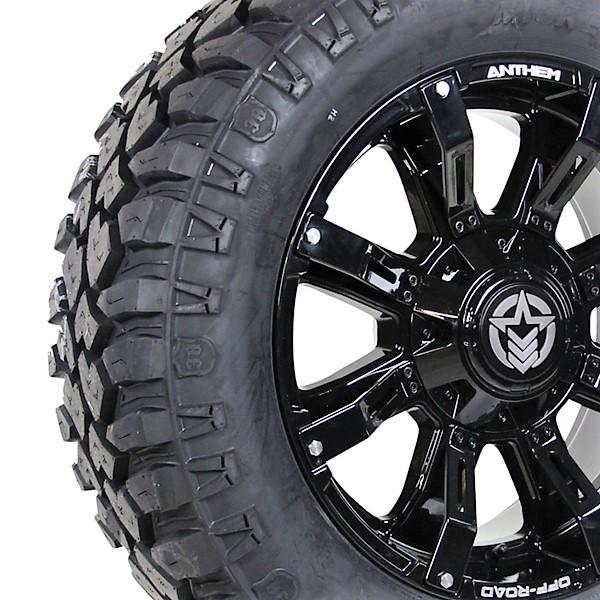 20x9 A711 Defender 305-55R20 Mickey Thompson Deegan 38 Close