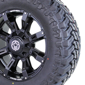 20x9 - A712 Defender w/ 35x12.50R20 Atturo Trail Blade MT (Set of 4)