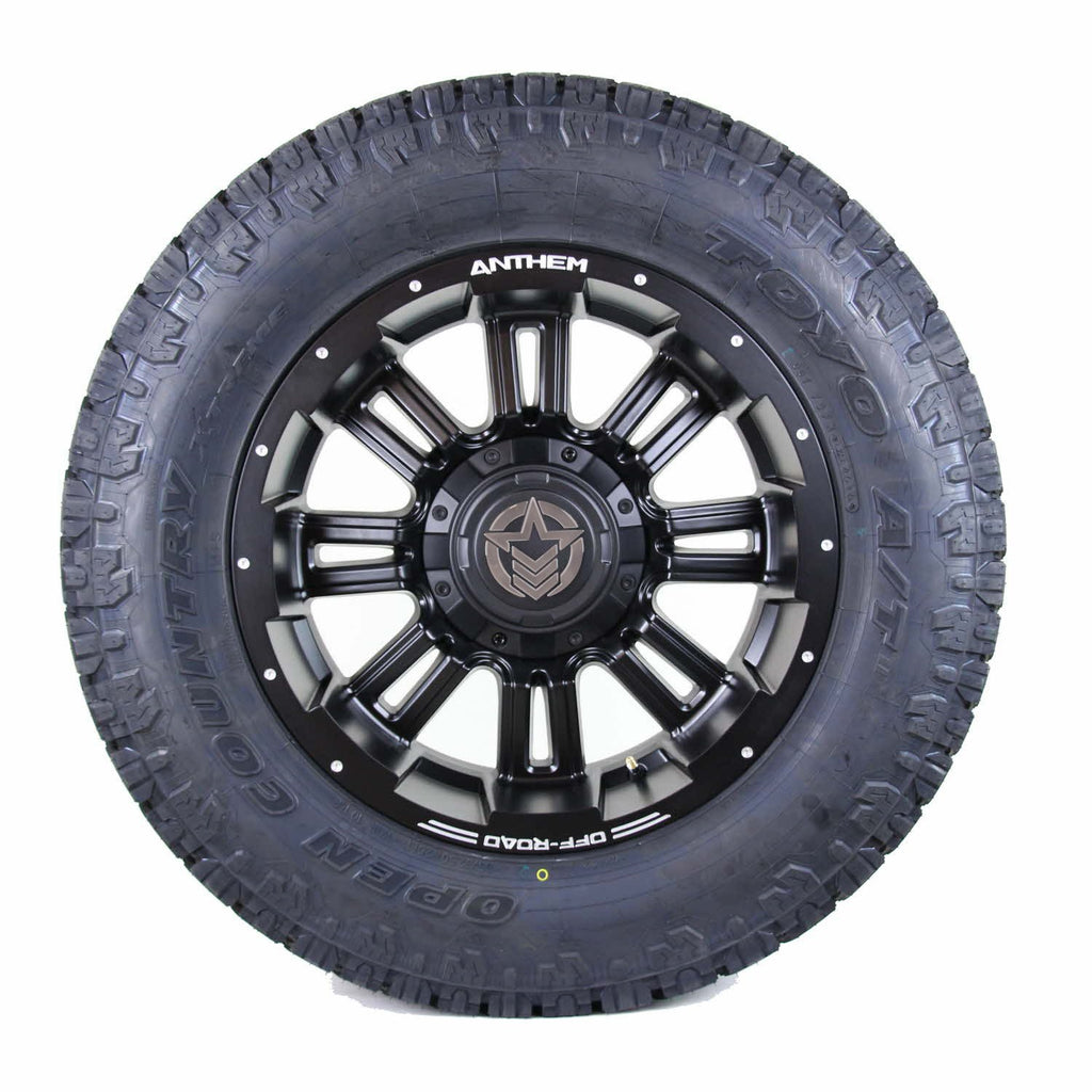 20x10 - A722 Enforcer w/ 305-55R20 Toyo Open Country AT (Set of 4)