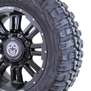 20x9 - A722 Enforcer w/ 33x12.50R20 Federal Couragia (Set of 4)